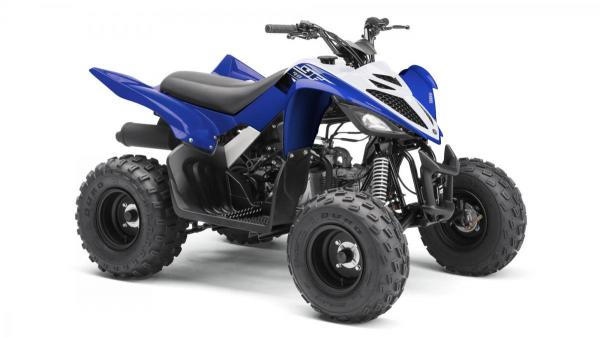 YFM90R Racing Blue