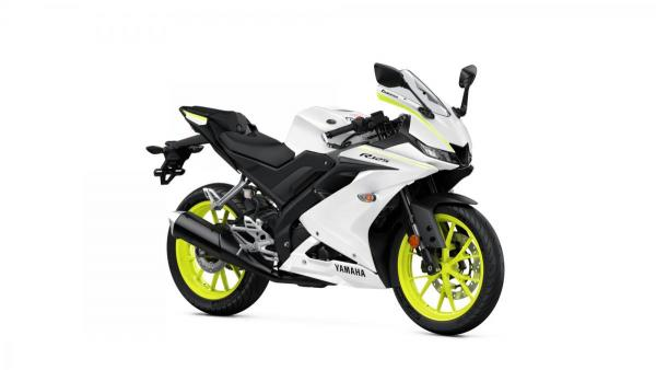 R125 Competition White