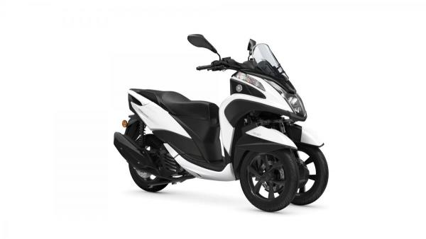 Tricity 125 Milky White